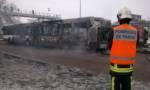Le bus 393 part en fumée à Créteil Pompadour