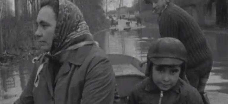Inondations en Val-de-Marne de 1930 à aujourd'hui en vidéo