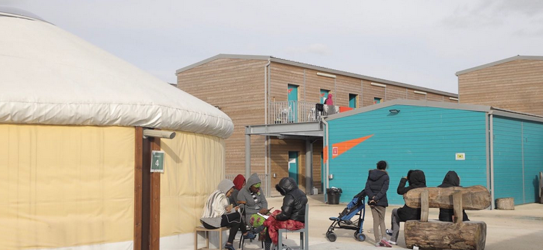 Déjà un an pour le centre d'hébergement d'urgence d'Ivry
