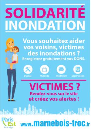 Publicité : Paris Est Marne et Bois