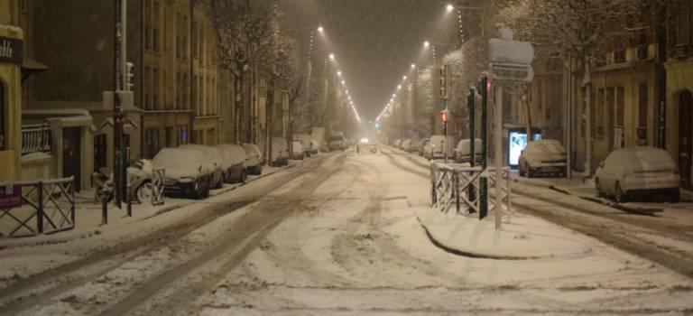 Neige en Val-de-Marne: vigilance orange et trafic perturbé