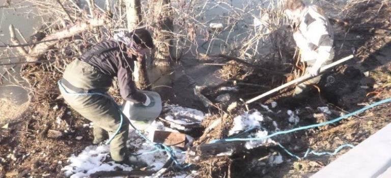 8 tonnes de déchets ramassés sur les berges de Villeneuve-Saint-Georges