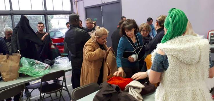 Inondations: formidable élan de solidarité à Villeneuve-Saint-Georges