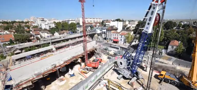 Grand Paris Express: Arcueil lance une charte des chantiers supportables