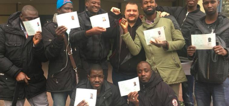 Fin de la grève des travailleurs sans papiers franciliens