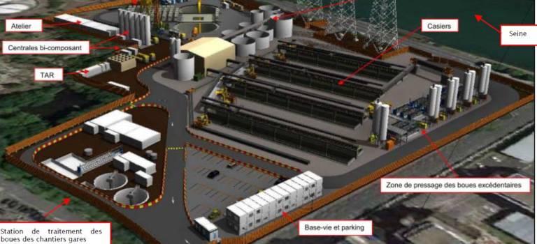 Vitry-sur-Seine: feu vert pour la station de traitement de boues de la 15 sud