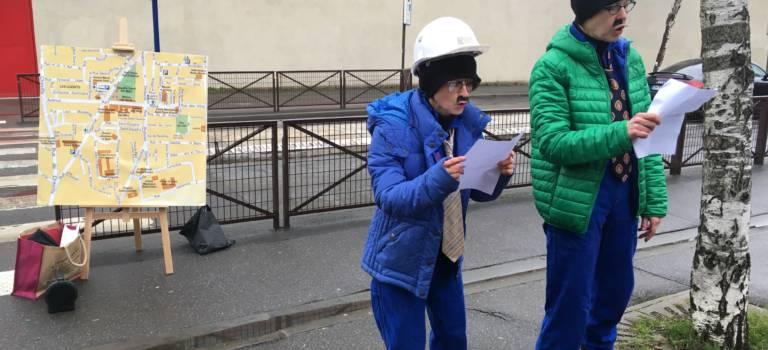A Villejuif, les rues se féminisent le temps d'une performance