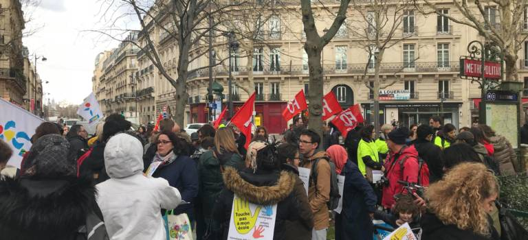 Grève du 5 décembre : plus de la moitié des écoles fermées en Val-de-Marne