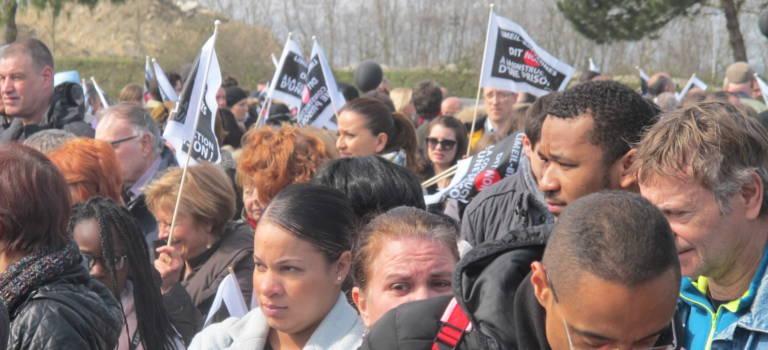 Un millier de personnes manifestent contre une prison à Limeil-Brévannes
