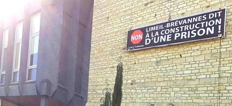 Manif anti-prison à Limeil-Brévannes