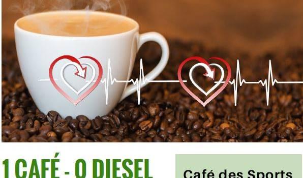 Opération «1 café 0 diesel» samedi 7 avril à Sucy-en-Brie
