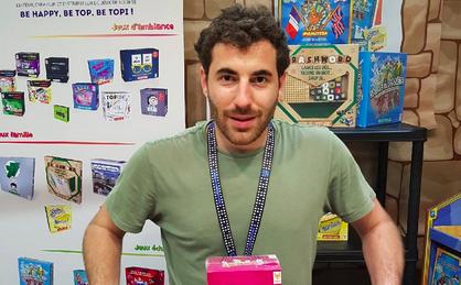 A Nogent-sur-Marne, Jonathan Algaze multiplie les jeux de société