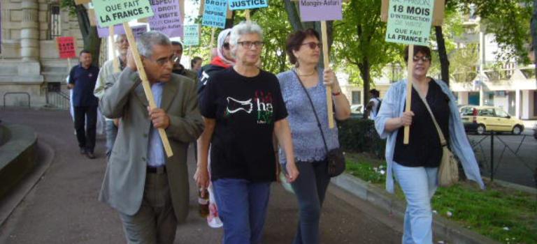 Déjà une semaine de grève de la faim pour Claude Mangin