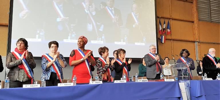 Emouvante élection du nouveau maire de Champigny-sur-Marne