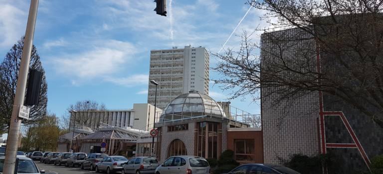 Nouvelle rue et nouvelle médiathèque à Fontenay-sous-Bois