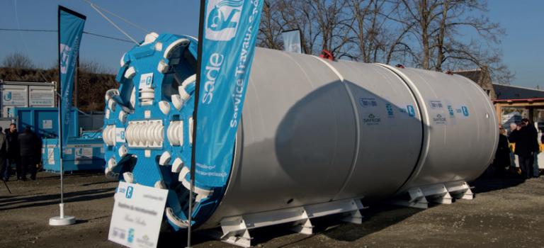 A Vitry-sur-Seine, le tunnelier Josiane prépare la station anti-crue