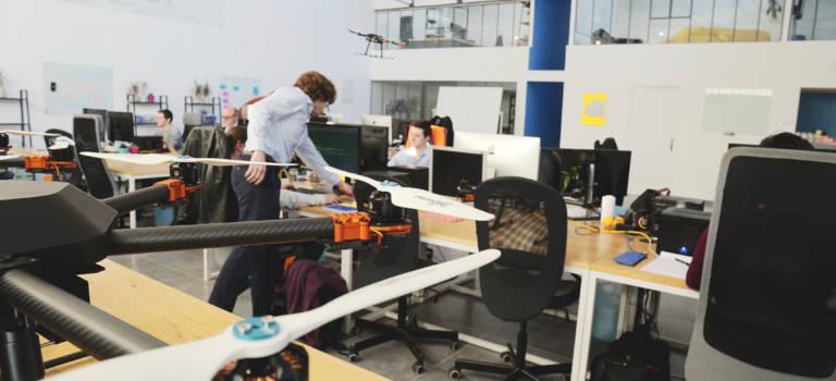 A Vitry-sur-Seine, le spécialiste du pilotage de drones Uavia lève 2 millions €
