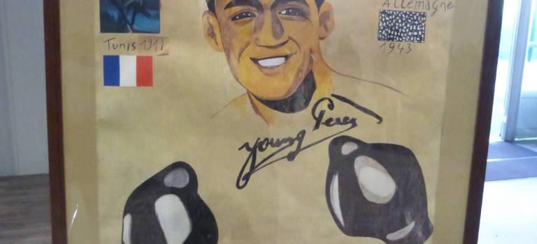 Hommage au boxeur Victor Young Perez à l'INSEP