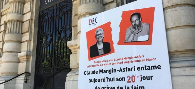 Au seuil de sa 4e semaine de grève de la faim, Claude Mangin reçoit le soutien de Macron