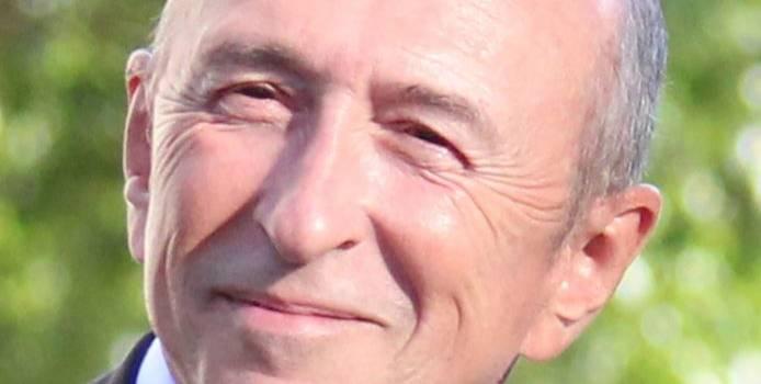 Gérard Collomb vient expliquer sa politique à Rungis