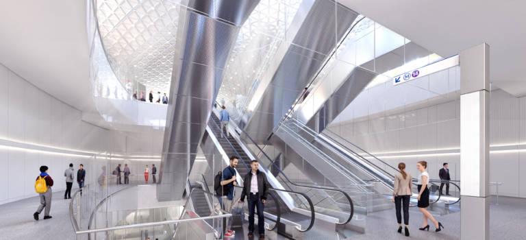 Grand Paris Express: les gares de la ligne 14 Sud en images