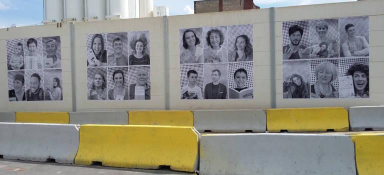 80 portraits géants de lectrices et lecteurs passionnés «s'affichent» à Villejuif !