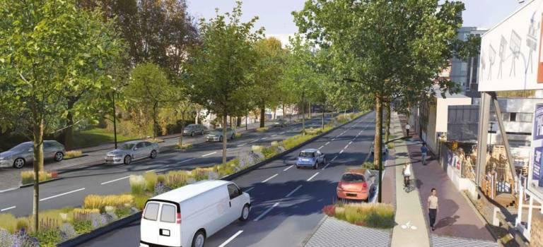 Vélos et usagers des transports veulent leur place sur la RD920
