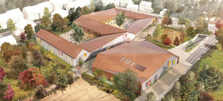 A Chennevières-sur-Marne, la future école Corot 2 se dévoile