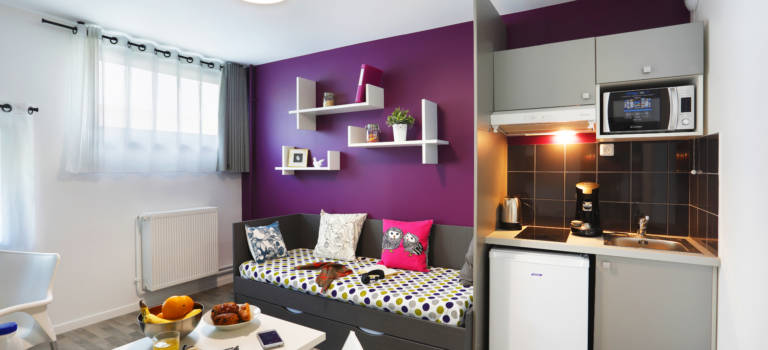 Nouvelle résidence étudiante à Créteil