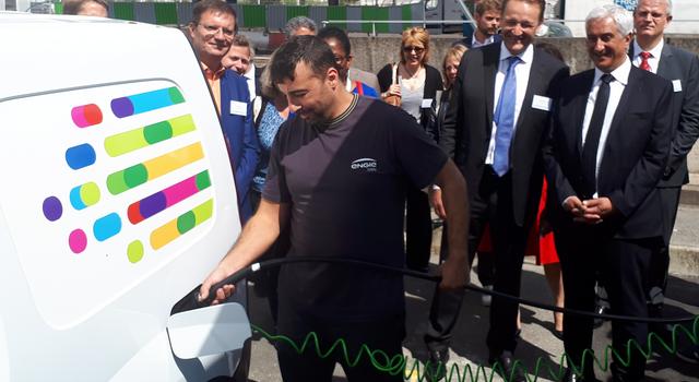 Feu vert pour les véhicules hydrogène au MIN de Rungis