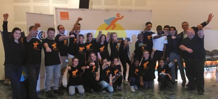 Les élèves des Guiblets ont appris à coder à la CCI du Val-de-Marne