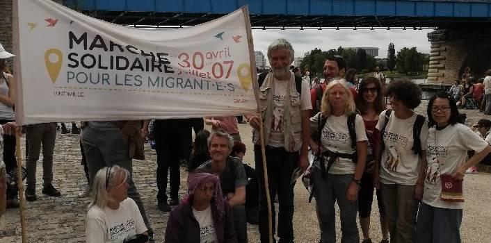 Retour en images sur la Marche des réfugiés en Val-de-Marne