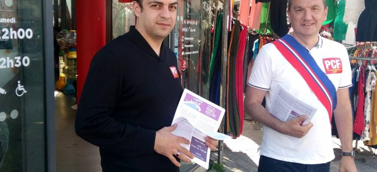 Ozer Oztorun élu à la tête du PCF de Villejuif