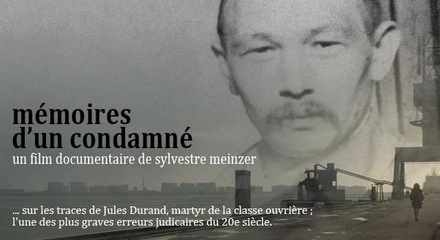 Ciné-débat autour de Mémoires d'un condamné de Sylvestre Meinzer