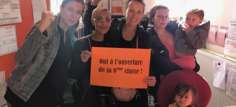 L'école Henri Barbusse occupée à Alfortville