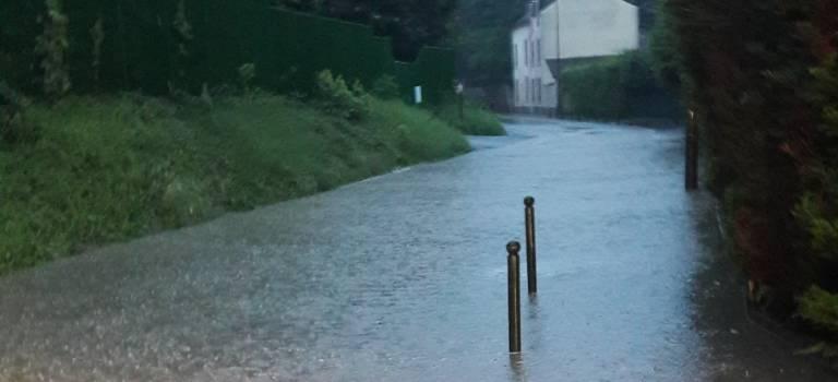 A Orly, une partie du quartier bois Grignon sous l'eau
