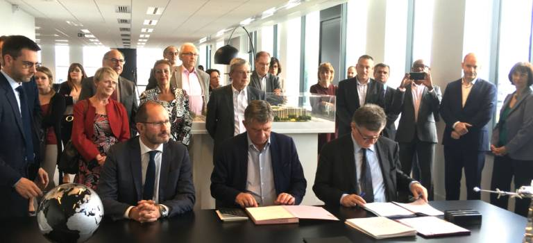 Grand Orly Seine Bièvre a signé à Coeur d'Orly