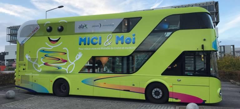Maladie de Crohn: le bus de la prévention s'arrête à Mondor