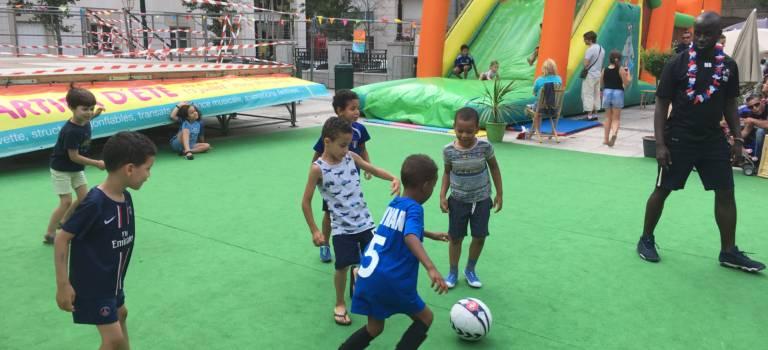 Coupe du monde futsal animée à Saint-Maurice
