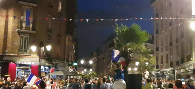 Où regarder la finale France Croatie en Val-de-Marne