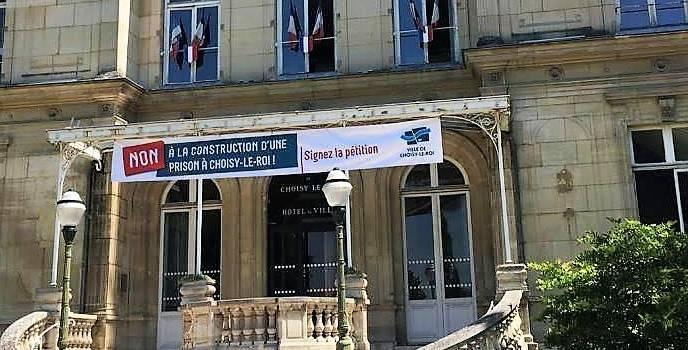 Mobilisation contre une prison à Choisy: manif et RDV au ministère
