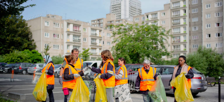 World Cleanup Day à Vitry-sur-Seine