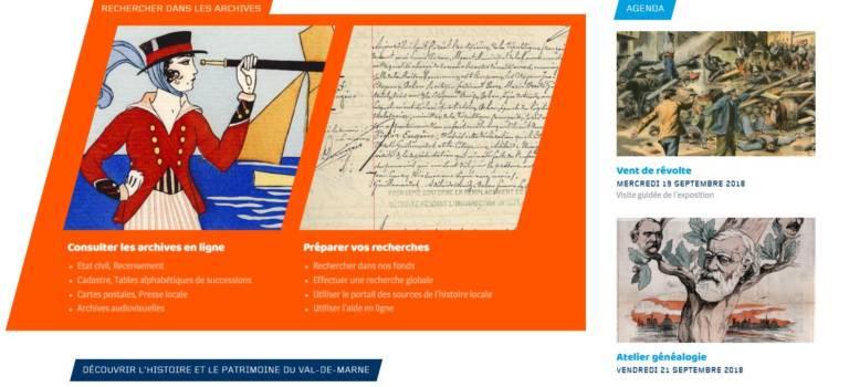Les archives du Val-de-Marne rendent leur site Internet collaboratif