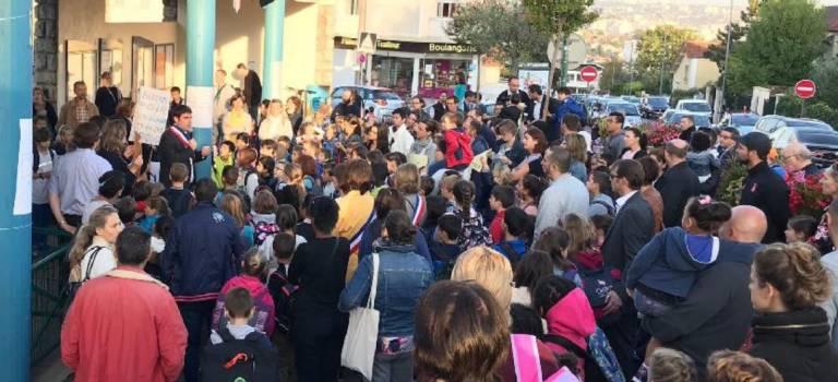 Colère des Blondeaux à L'Haÿ-les-Roses : blocage des évaluations et manif au ministère