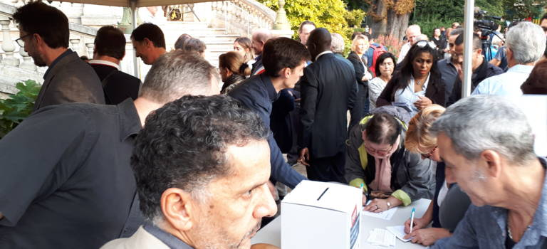 250 personnes ont manifesté contre la prison de fin de peine à Choisy-le-Roi