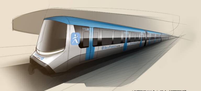 Alstom construira les rames de métro du Grand Paris Express