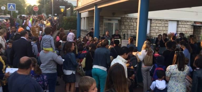Les parents de l'école Blondeaux ont bloqué l'accès aux évaluateurs