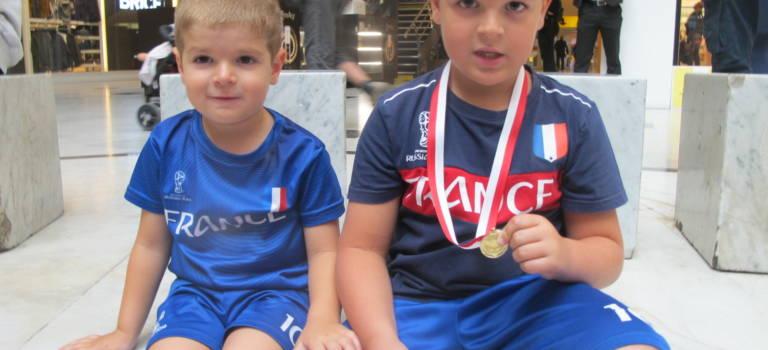 Journée mondiale des premiers secours, les enfants repartent avec la médaille