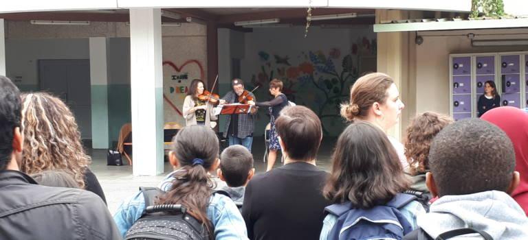 A Alfortville, l'orchestre national d'Ile-de-France a rythmé la rentrée