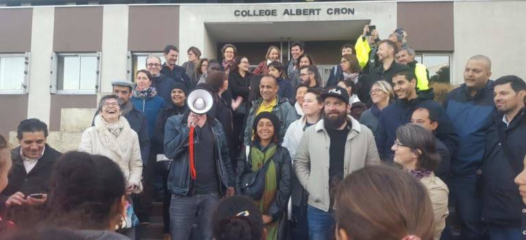 Au Kremlin-Bicêtre, le collège Albert Cron toujours bloqué
